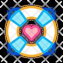 Lifebuoy Heart All Purpose Icon