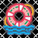 Lifebuoy Rescue Tool Icon