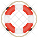 Lifebuoy Safety Tube Tyre Tube Icon