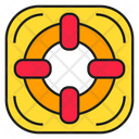 Lifebuoy Safety Support Icon