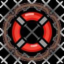Lifebuoy Safety Float Icon