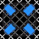 Lifebuoy Ring Safety Icon