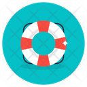 Lifebuoy Tyre Tube Swimming Tyre Icon