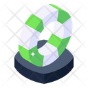 Lifebuoy Lifesaver Tube Lifesaver Ring Icon