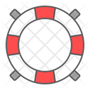 Lifebuoy Lifeguard Lifesaver Icon