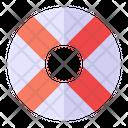 Lifebuoy Lifesaver Security Icon
