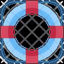 Lifebuoy Lifesaver Safety Icon