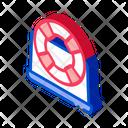 Lifebuoy Computer Telemarketing Icon