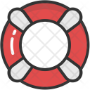 Life Guard Safety Icon