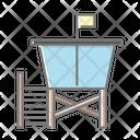 Lifeguard Cabin Icon