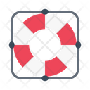 Lifeguard Protection Safety Icon