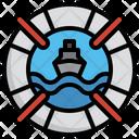 Lifeguard Life Ring Life Preserver Icon