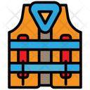 Lifejacket Safety Jacket Swimming Jacket Icon