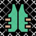 Lifejacket Bulletproof Military Icon