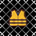 Lifejacket Wetsuit Wear Icon