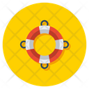 Lifesaver Lifeguard Life Ring Icon