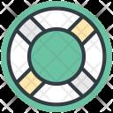 Lifesaver Lifebuoy Ring Icon