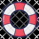 Lifesaver Lifeguard Lifebuoy Icon