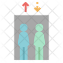Lift Elevator Down Icon
