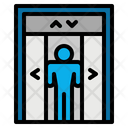 Lift Elevator Doors Icon