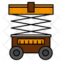 Lift Forklift Warehouse Icon