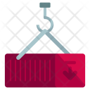 Crane Arrow Down Icon