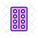 Elevator Up Contour Icon