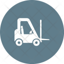 Lifter Truck Forklift Icon