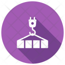 Lifter Crane Construction Icon