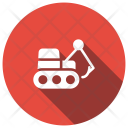 Lifter Forklift Crane Icon
