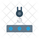Lifter Container Construction Icon