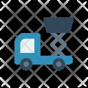 Lifter Crane Vehicle Icon