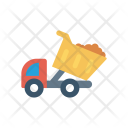Lifter Construction Vehicle Icon