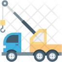 Lifter Truck Luggage Icon