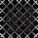 Lifter Crane Shipping Icon