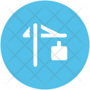 Lifter Hook Construction Icon