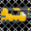 Lifting Crane Truck Icon