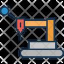 Lifting Crane Construction Icon