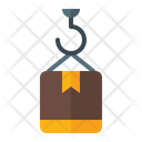 Lifting Delivery Box Icon