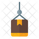 Lifting Delivery Parcel Icon