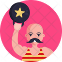 Lifting Weight Fitness Gym Icon