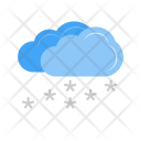 Light Snowing Cloud Icon