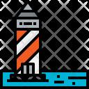 Light Tower Travel Icon