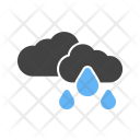 Light Rain Cloud Icon