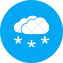 Light Snowing Snowflake Icon