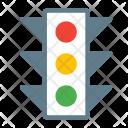 Light Crosswalk Street Icon