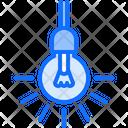 Light Bulb Electrician Icon