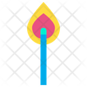 Light Matchstick Fire Icon