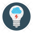 Cloud Energy Power Icon