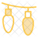 Light Bulb Decoration Icon